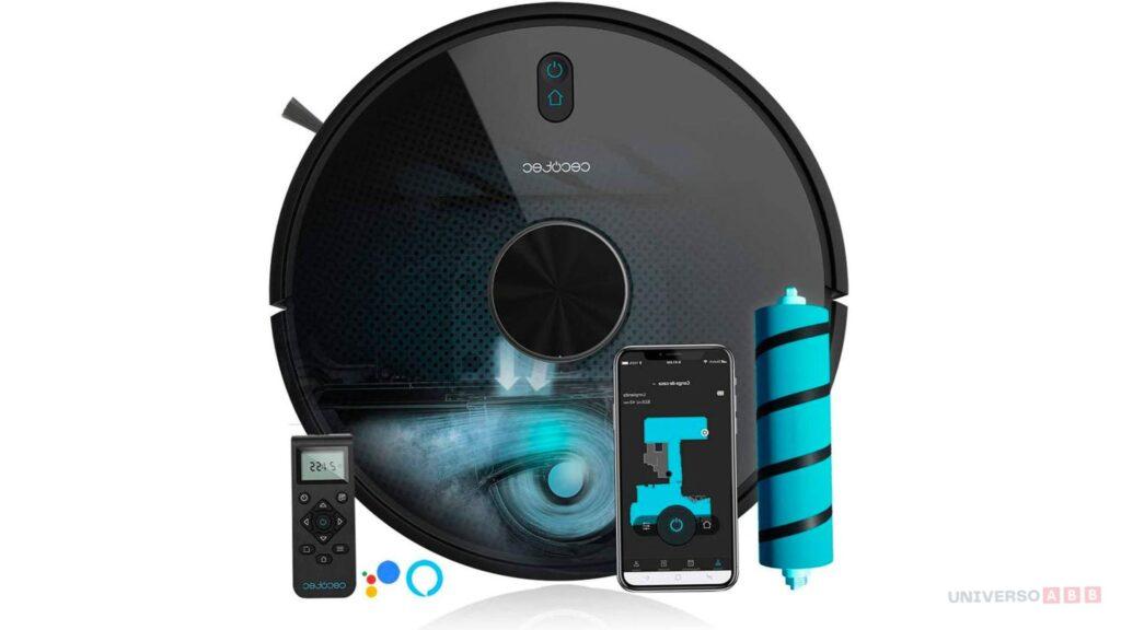 aspirador inteligente, aspirador wifi, mejor aspirador inteligente, cecotec, review cecotec, opinion cecotec conga, cecotec